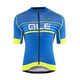 Alé Cycling Graphics PRR Salita Short Sleeve Jersey Men blue-fluo yellow